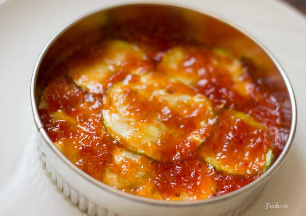 Pastel de Patatas y Mermelada de Tomate
