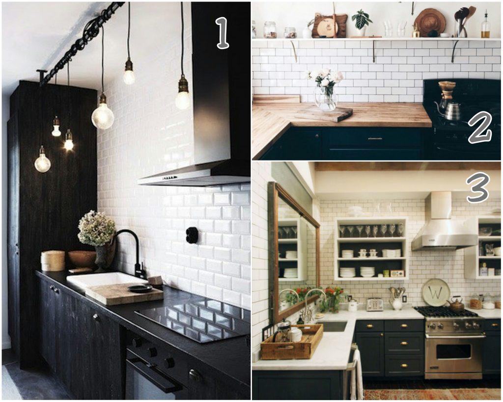 Azulejo metro cocina idea de la imagen de inicio - Tipos de azulejos para cocina ...
