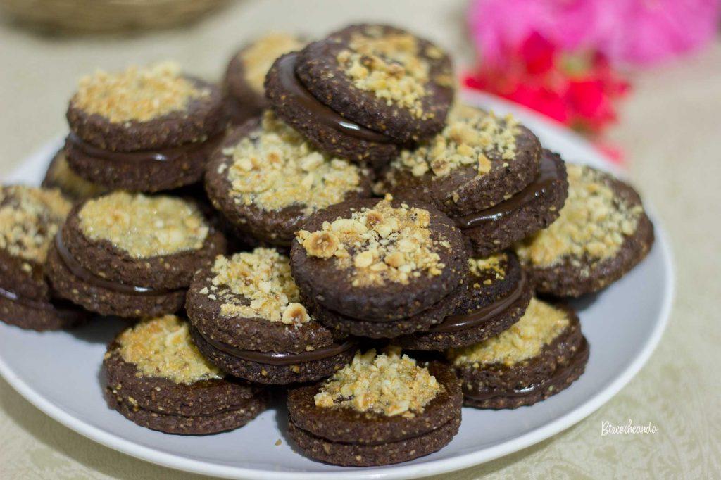 Galletas de Chocolate y Avellanas