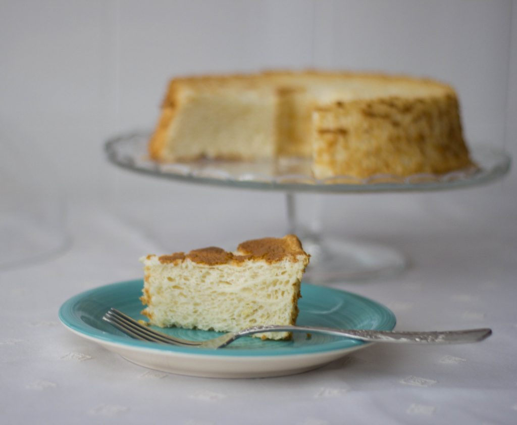 Angel Food Cake de Limon